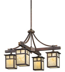 Kichler Lighting Alameda 100W 4-Light Medium Incandescent Chandelier KK49091