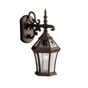 Kichler Lighting Townhouse 15-1/4 in. 100W 1-Light Medium Lantern KK9789