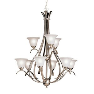 Kichler Lighting Dover 60W 9-Light Incandescent Chandelier KK2520