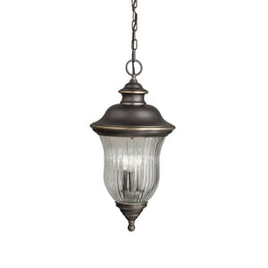 Kichler Lighting Sausalito 60W 3-Light Outdoor Pendant KK9832