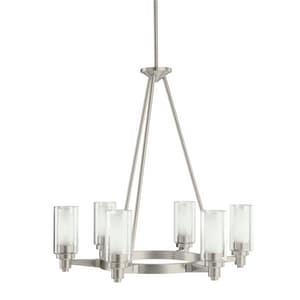 Kichler Lighting Circolo™ 26-1/2 in. 60W 6-Light Medium Chandelier KK2344NI