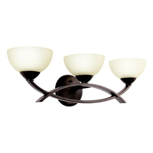 Kichler Lighting Bellamy 60W 3-Light Bath Vanity Fixture KK45163