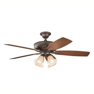 Kichler Lighting Monarch II™ 52 in. 5-Blade Ceiling Fan KK310103