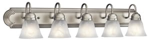 Kichler Lighting 100W 5-Light Medium Base Incandescent Bath Vanity KK5339