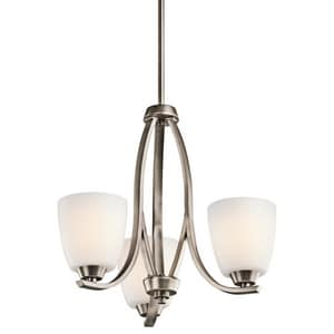 Kichler Lighting Granby™ 100W 3-Light Medium Incandescent Chandelier KK42556