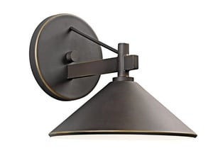 Kichler Lighting Ripley 60 W 1-Light Medium Sconce KK49059OZ