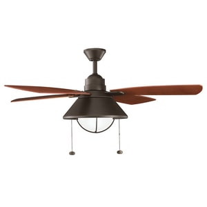 Kichler Lighting Seaside™ 54 in. 4-Blade Ceiling Fan with Light Kit KK310131OZ