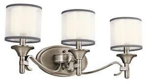 Kichler Lighting Lacey™ 60W 3-Light Candelabra Bracket Fixture KK45283