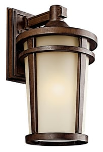 Kichler Lighting Atwood 18W 1-Light Lantern KK49073BSTFL