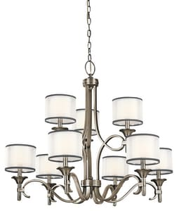 Kichler Lighting Lacey™ 29-1/2 in. 60W 9-Light Chandelier KK42382