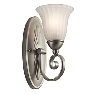Kichler Lighting Willowmore 100 W 1-Light A19 Wall Sconce KK5926
