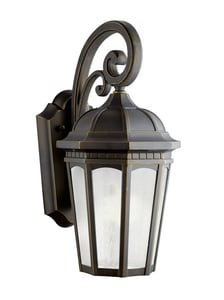 Kichler Lighting Courtyard™ 18W 1-Light Outdoor Wall Sconce KK11011