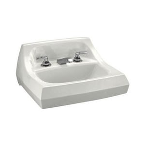 Kohler Kingston™ Vitreous China Lavatory Sink with 8 in. Centerset Faucet K2006-BA