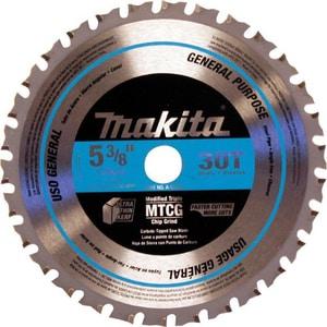 Makita USA 30 TPI Carbide‑Tipped Saw Blade MA95037