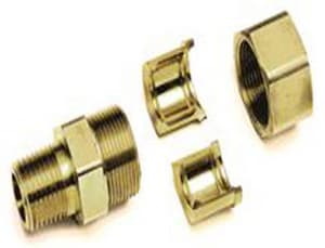 Gastite MNPT Flexible Gas Pipe Straight Fitting TFSFTG