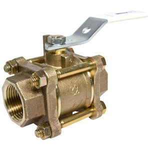 Nibco T-595-Y-LF DZR Silicon Bronze Full Port NPT 600# Ball Valve NT595YLF
