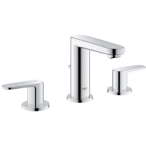 Grohe Europlus® Widespread Lavatory Faucet with Double Lever Handle G20302