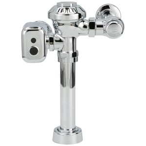 Zurn Industries AquaSense® 1.28 gpf Flush Valve in Polished Chrome ZZEMS6000PLHETIS