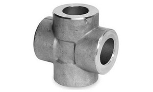 Threaded 3000# 316L Stainless Steel Cross IS6L3TCR