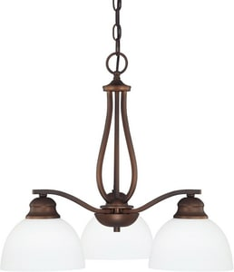 Capital Lighting Fixture Stanton 100W 3-Light Medium E-26 Incandescent Chandelier C4034212