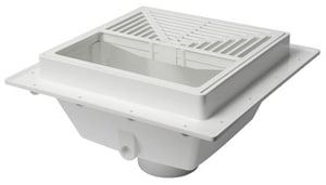 Sioux Chief 3 x 1/2 in. PVC Grate Dome S8613PU2