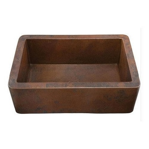 Thompson Traders Toscana 33 x 22 in. Single Bowl Kitchen Sink T2KS