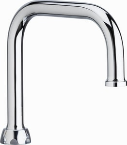 Chicago Faucet 6-1/4 in. Double Bend Spout CDB6JKABCP