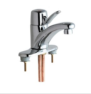 Chicago Faucet Marathon™ 0.35 gpm Single Lever Handle Hot and Cold Mixing Faucet C22004E39VPAB
