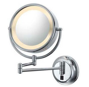 Kimball and Young 15-1/4 x 12-1/2 in. Double Light Wall Mount Mirror K95345HW