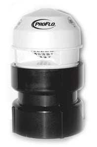 PROFLO Air Admittance Valve with ABS Adapter PFAAV6A