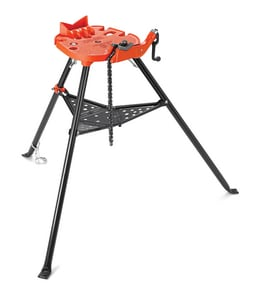 Ridgid 1/8 in. - 6 in. 460-6 Portable Tri-Stand Chain Vise R36273