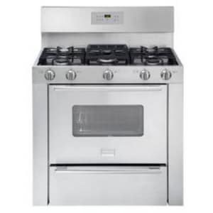 Frigidaire 36 in. Self Cleaning Free Standing Gas Range FFPGF3685LS