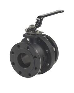 Milwaukee Valve 2-1/2 in. 150 psi Carbon Steel Full Port Flanged Ball Valve MF20CS150F02L