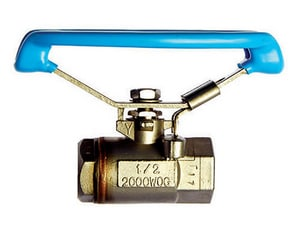 Milwaukee Valve 1/2 in. Stainless Steel Lever Operator Reduced Port Ball Valve M22SS0R02LOD