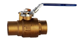 Milwaukee Valve 1/4 - 1/2 in. Lever Handle Locking Device for Ball Valve M27995AMV