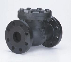 Milwaukee Valve 250# Flanged Check Valve M2970M