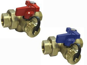 Red-White Valve 3/4 in. Threaded Tankless Water Heater Valve Kit R3420RABF