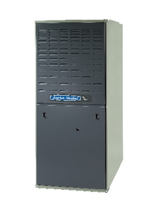 American Standard HVAC AUD2 Series 24-1/2 in. 80% AFUE 5 Ton Two-Stage Upflow 1 hp Natural or LP Gas Furnace AAUD2DACV52A
