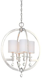 Metropolitan Lighting Fixture Chadbourne 60 W 4-Light Candelabra Pendant MN6840613