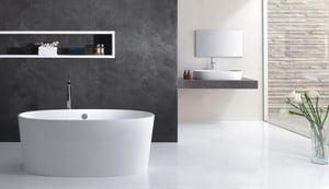 Victoria & Albert Bath Ios 59 x 31 in. Double Ended Tub VIOSNSW