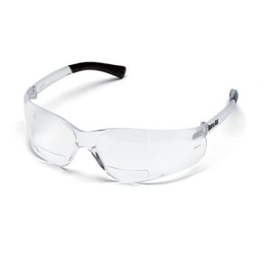 Crews BearKat® 1.5 Diopter Magnifier Safety Glasses with Clear Lens CBKH15