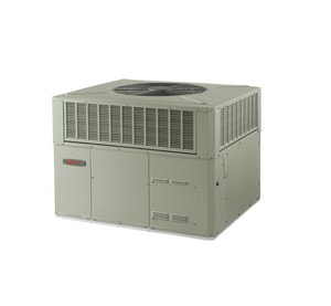 Trane 4YCC3 Series 3.5 Tons 13 SEER R-410A Single-Stage Spine Fin Convertible LP or Natural Gas/Electric Packaged Unit T4YCC3042B1096A