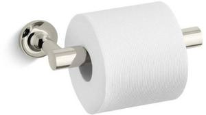 Kohler Purist® 8-3/16 in. Wall Mount Pivoting Toilet Tissue Holder K14377