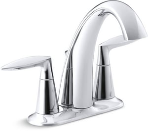 Kohler Alteo® Centerset Lavatory Faucet with Double Lever Handle K45100-4