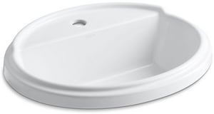 Kohler Tresham™ Oval Drop-In Lavatory Sink K2992-1