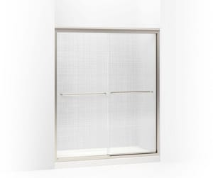 Kohler Fluence® 70-5/16 x 59-5/8 in. Frameless Sliding Shower Door K702206-G73