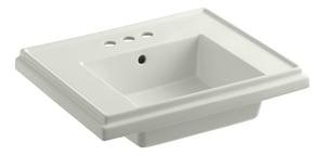 Kohler Tresham® Pedestal Bathroom Sink with Centerset Faucet K2757-4