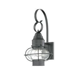 Quoizel Cooper 9 in. 100 W 1-Light Medium Lantern QCOR8409K