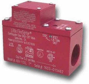 Little Firefighter 5 psi 90 Degree Gas Shut-Off Valve LNAGV