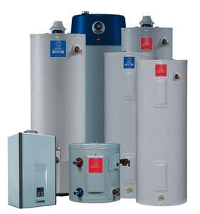 State Industries 40 gal. 4.5 kW 208 V Single Phase Aluminum Outlet Water Heater in White SES640DORTGX45OA